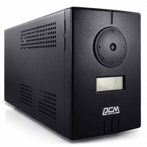 Powercom Infinity, Line-Interactive, 500VA/300W, Tower, Schuko, LCD, USB