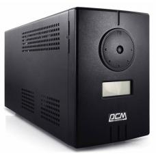 Powercom Infinity, Line-Interactive, 800VA/480W, Tower, Schuko, LCD, USB