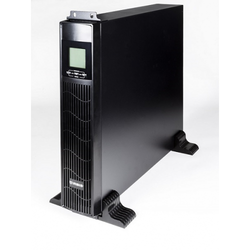 IRBIS UPS Online  1000VA/900W, LCD,  6xC13 outlets, USB, RS232, SNMP Slot, Rack mount (2U) / Tower, 2 year warranty