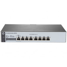 HPE 1820 8G Switch (8 ports 10/100/1000, WEB-managed, fanless, desktop, can be powered with PoE) (repl. for J9802A)