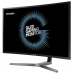 "Samsung 31.5"" C32HG70QQI VA LED изогнутый LED 16:9 2560x1440 1ms 3000:1 350cd 178/178 2*HDMI DP USB HAS Pivot Black-Grey"