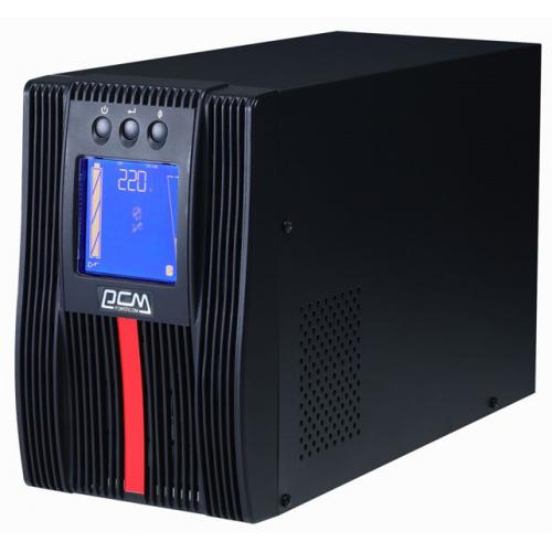 Powercom MACAN, On-Line, 1000VA/1000W, Tower, IEC, Serial+USB, SNMP Slot