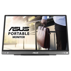 """ASUS 15.6"""" MB16ACE IPS USB-Portable Monitor, 1920x1080, 5ms, 250cd/m2, 800:1, 178°/178°, USB Type-C, 60Hz, Pivot Auto-Rotate, Ultra-slim, SmartCase, Compatible Thunderbolt 3, DarkGray, 90LM0381-B04170 - MB16ACE"""