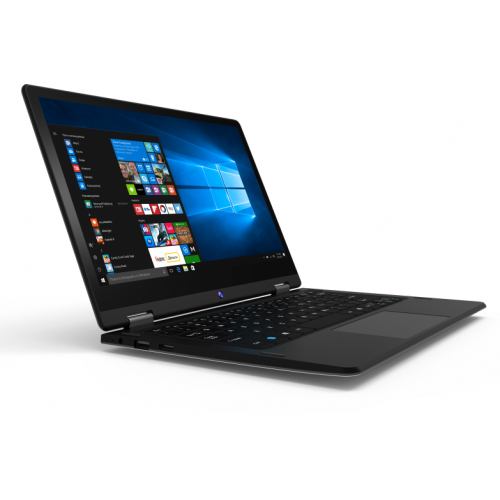"IRBIS NB116, 11,6"" (1920x1080IPS), Intel z8350 4x1.92Ghz (QuadCore), 4096MB, 32GB, cam 2.0MPx, Wi-Fi, Windows 10.1, jack 3.5, Black"
