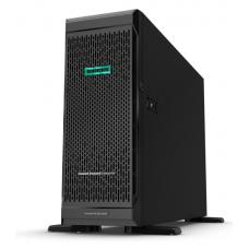 ProLiant ML350 Gen10 Silver 4210 Tower(4U)/Xeon10C 2.2GHz(14MB)/1x16GbR1D_2933/P408i-aFBWC(2Gb/RAID 0/1/10/5/50/6/60)/noHDD(8/24up)SFF/noDVD/iLOstd/6NHPFans/4x1GbEth/1x800W(2up)