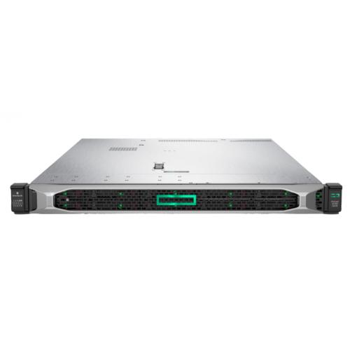 Proliant DL360 Gen10 Silver 4210 Rack(1U)/Xeon10C 2.2GHz(14MB)/1x16GbR2D_2933/P408i-aFBWC(2Gb/RAID 0/1/10/5/50/6/60)/noHDD(8/10+1up)SFF/noDVD/iLOstd/4x1GbEth/EasyRK/1x500wPlat(2up) analog P03631-B21 [P19779-B21]