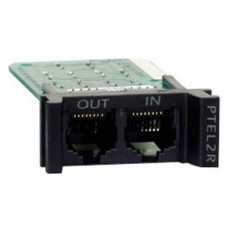 APC REPLACEABLE, RACKMOUNT, 1U, 2 LINE TELCO SURGE PROTECTION MODULE - PTEL2R