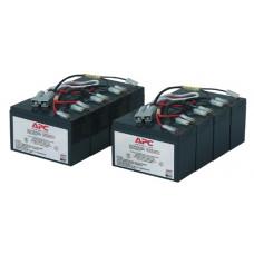 Батареи Battery replacement kit for SU2200R3IBX120, SU2200RMI3U, SU3000R3IBX120, SU3000R3IX160, SU3000RMI3U, SU5000I, SU5000R5IBX120, SU5000RMI5U, SU5000RMXLI5U (2 ряда по 4 батареи в каждом) - RBC12