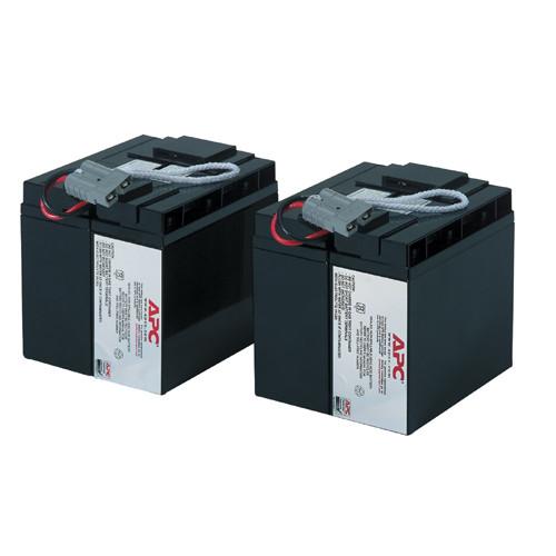 Батареи Battery replacement kit for SUA48XLBP, SUA5000RMI5U, SUA2200I, SUA3000I, SUA3000XLI, SUA2200XLI (состоит из 4 батарей) - RBC55