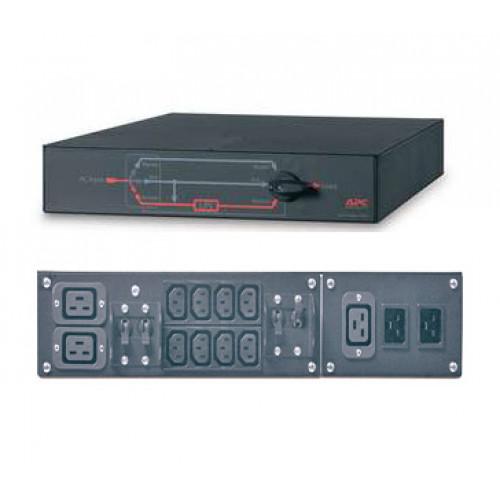APC Service Bypass Panel- 230V; 32A; BBM; IEC320 C20/HW input; IEC-320 Output- (2) C19 (8) C13 - SBP5000RMI2U