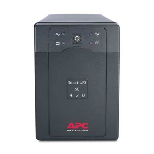 ИБП Smart-UPS 420VA/260W, 230V, Line-Interactive, Data line surge protection, Hot Swap User Replaceable Batteries, PowerChute - SC420I