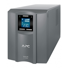 ИБП APC Smart-UPS C 1000VA/600W, 230V, Line-Interactive, Out: 220-240V 8xC13, LCD, Gray, 1 year warranty, No CD/cables - SMC1000I-RS