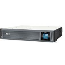 ИБП APC Smart-UPS C 2000VA/1300W 2U RackMount, 230V, Line-Interactive, Out: 220-240V 6xC13, LCD, Gray, 1 year warranty, No CD/cables - SMC2000I-2URS