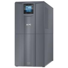 ИБП APC Smart-UPS C 3000VA/2100W, 230V, Line-Interactive, Out: 220-240V 6xC13/1xC19, LCD, Gray, 1 year warranty, No CD/cables - SMC3000I-RS