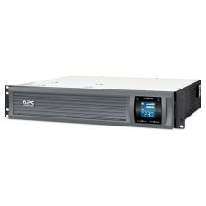 ИБП APC Smart-UPS C 3000VA/2100W 2U RackMount, 230V, Line-Interactive, Out: 220-240V 8xC13/1xC19, LCD, Gray, 1 year warranty, No CD/cables - SMC3000R2I-RS