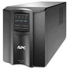 ИБП APC Smart-UPS 1000VA/700W, Line-Interactive, LCD, Out: 220-240V 8xC13 (4-Switched), SmartSlot, USB, HS User Replaceable Bat, Black, 3(2) y.war. (REP: SUA1000I) - SMT1000I