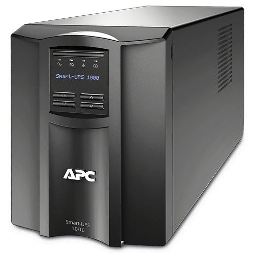 ИБП APC Smart-UPS 1000VA/700W, Line-Interactive, LCD, Out: 220-240V 8xC13 (4-Switched), SmartSlot, USB, HS User Replaceable Bat, Black, 3(2) y.war. (REP: SUA1000I) - SMT1000I