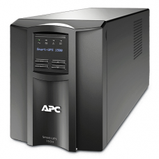 ИБП APC Smart-UPS 1500VA/980W, Line-Interactive, LCD, Out: 220-240V 8xC13 (4-Switched), SmartSlot, USB, HS User Replaceable Bat, Black, 3(2) y.war. (REP: SUA1500I) - SMT1500I
