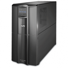 ИБП APC Smart-UPS 3000VA/2700W, Line-Interactive, LCD, Out: 220-240V 8xC13 (4-Switched) 1xC19, SmartSlot, EPO, HS User Replaceable Bat, Black, 3(2) y.war.(REP: SUA3000I) - SMT3000I