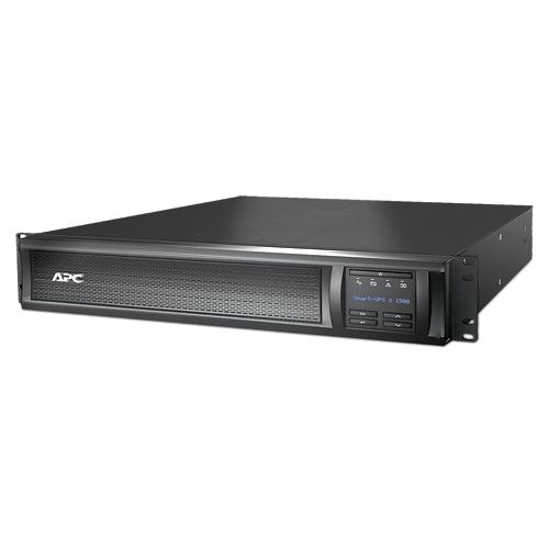 ИБП APC Smart-UPS X 1500VA/1200W, RM 2U/Tower, Ext. Runtime, Line-Interactive, LCD, Out: 220-240V 8xC13 (3-gr. switched) , SmartSlot, USB, COM, EPO, HS User Replaceable Bat, Black, 3(2) y.war. - SMX1500RMI2U