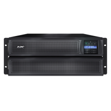 ИБП APC Smart-UPS X 2200VA/1980W, RM 4U/Tower, Ext. Runtime, Line-Interactive, LCD, Out: 220-240V 8xC13 (3-gr. switched) 2xC19, SmartSlot, USB, COM, EPO, HS User Replaceable Bat, Black, 3(2) y.war. (REP:S - SMX2200HV