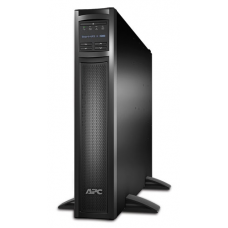 ИБП APC Smart-UPS X 3000VA/2700W, RM 2U/Tower, Ext. Runtime, Line-Interactive, LCD, Out: 220-240V 8xC13 (3-gr. switched) 1xC19, Pre-Inst. Web/SNMP, USB, COM, EPO, HS User Replaceable Bat, Black, 3(2) y.wa - SMX3000RMHV2UNC