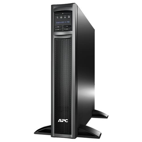 ИБП APC Smart-UPS X 750VA/600W, Tower/RM 2U, Ext. Runtime, Line-Interactive, LCD, Out: 220-240V 8xC13 (1-gr. switched) , SmartSlot, USB, COM, EPO, HS User Replaceable Bat, Black, 3(2) y.war.(REP: SUA750XL - SMX750I