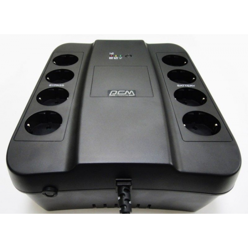 Powercom Back-UPS SPIDER, Line-Interactive, 1000VA/550W, Tower, Schuko, USB