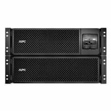 ИБП APC Smart-UPS SRT RM, 10000VA/10000W, On-Line, Extended-run, Rack 6U (Tower convertible), Pre-Inst. Web/SNMP, with PC Business, Black - SRT10KRMXLI