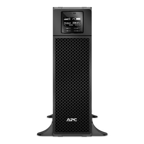 ИБП APC Smart-UPS SRT, 5000VA/4500W, On-Line, Extended-run, Black, Tower (Rack 3U convertible), Pre-Inst. Web/SNMP, with PC Business - SRT5KXLI