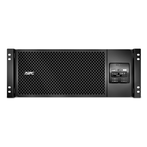 ИБП APC Smart-UPS SRT RM, 6000VA/6000W, On-Line, Extended-run, Rack 4U (Tower convertible), Pre-Inst. Web/SNMP, with PC Business, Black - SRT6KRMXLI