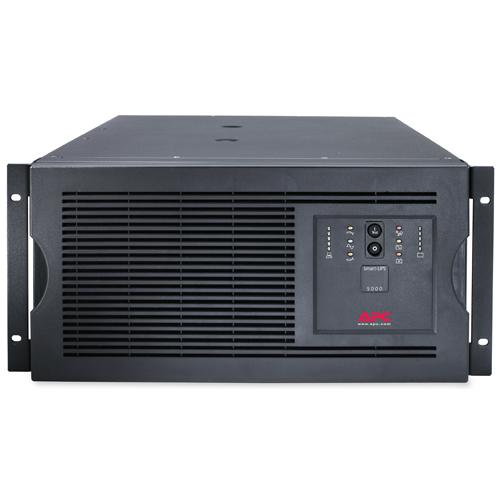 ИБП Smart-UPS 5000VA/4000W, 230V, Rackmount/Tower, 5U height, Line-interactive, Hot Sw. User Repl. Batt., SmartSlot, PowerChute - SUA5000RMI5U