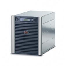 ИБП APC Symmetra LX 2.8kW/4.0kVA Scalable to 5.6kW/8kVA, Вх. 230V, 400V 3PH / Вых. 230V, (8)C13, (6)C19, DB-9 RS-232, Smart-Slot, N+1, RackMount 13U, Web/SNMP Manag. Card - SYA4K8RMI