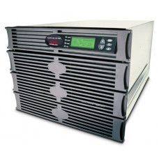ИБП APC Symmetra RM 2.8kW/4kVA Expandable to 4.3kW/6kVA or N+2, Вх. 230V / Вых. 230V,  (8)C13, (2)C19; DB-9 RS-232, RJ-45 10 Base-T ethernet for web/ SNMP/ Telnet man.,8 U - SYH4K6RMI