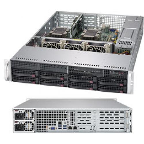Supermicro SuperServer 2U 6029P-WTR noCPU(2)Scalable/TDP 70-205W/ no DIMM(12)/ SATARAID HDD(8)LFF/ 2xGbE/ 4xFH, 2xLP, M2/ 2x1000W