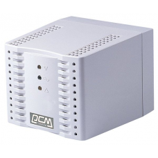 Powercom Voltage Regulator, 3000VA, White, Schuko