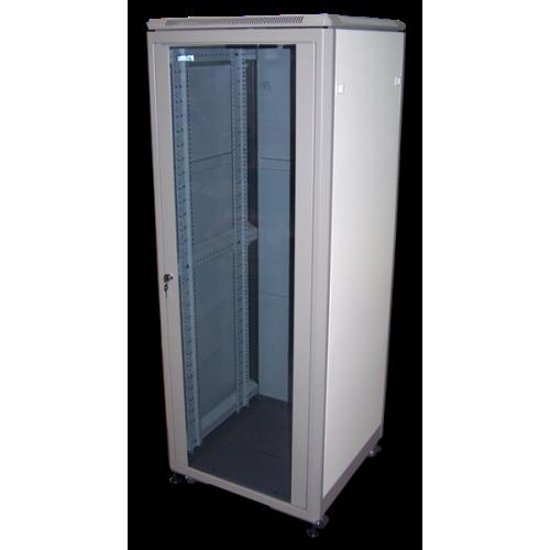 """Шкаф 19"""" Eco, 31U 600x800, серый, дверь стекло - TWT-CBE-31U-6x8"""