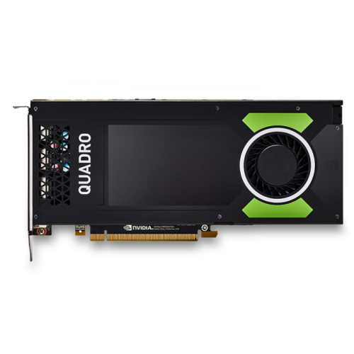 PNY Nvidia Quadro P4000 8GB PCIE 4xDP1.4+3pin 3D-Stereo 256-bit 1792 Cores DDR5 4xDP to DVI-D (SL) adapter+Stereo connector bracket, Retail