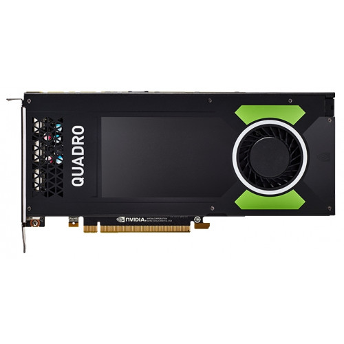 PNY Nvidia Quadro P4000 8GB PCIE 4xDP1.4+3pin 3D-Stereo 256-bit 1792 Cores DDR5 4xDP to DVI-D (SL) adapter+Stereo connector bracket, Bulk