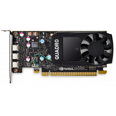 PNY Nvidia Quadro P400 2GB DDR5, PCIE, 64-bit 256 Cores, 3*mDP1.4, 3*mDP to DP 1xmDP to DVI-D SL adapter, ATX bracket, Retail