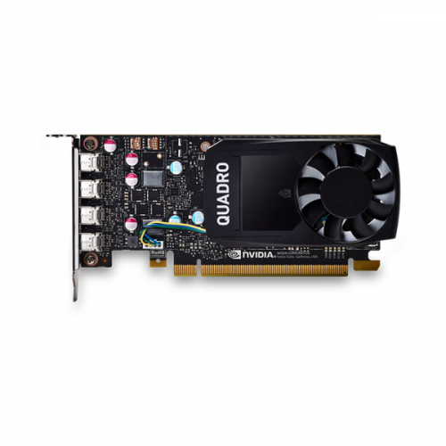 PNY Nvidia Quadro P620 2GB DDR5, PCIE, 128-bit 512 Cores, 4*mDP2.0, 4*mDP to DP adapter, 1*mDP to DVI-D SL adapter, LP bracket, Retail