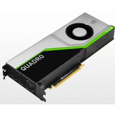 PNY Nvidia Quadro RTX6000 24GB PCI-Express x16 Gen 3.0  GDDR6 ECC 256-bit, 4608 Cuda cores,  SLI , HDCP 2.2, HEVC and HDMI 2.0 support, 3x DP 1.4, 1x VirtualLink, adapters: 1x DisplayPort to DVD-D (SL - VCQRTX6000-PB