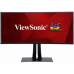"Viewsonic 38"" VP3881 IPS LED изогнутый, 3840x1600, 5ms, 300cd/m2, 178°/178°, 20Mln:1, HDMI*2, DP, USB-Hub, HeadphoneOut, Апп.калибровка, Frameless, Tilt, Swivel, рег.по высоте, Black"