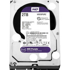 Western Digital HDD SATA-III  2000Gb Purple WD20PURZ, IntelliPower, 64MB buffer (DV&NVR)