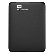 "Western Digital Elements  HDD EXT 1000Gb,  5400 rpm, USB 3.0, 2.5"" BLACK (WDBUZG0010BBK-WESN)"