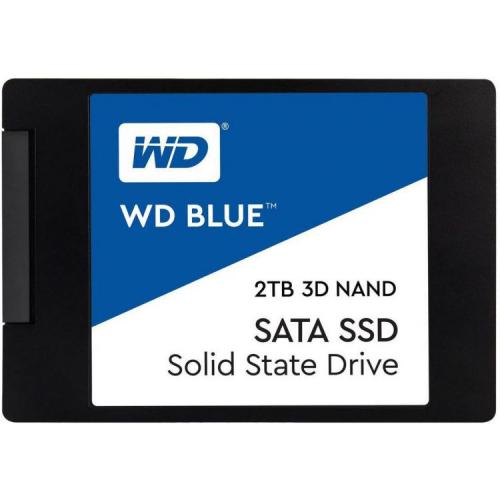 """Western Digital SSD BLUE 2Tb SATA-III 2,5""""/7мм 3D NAND WDS200T2B0A"""