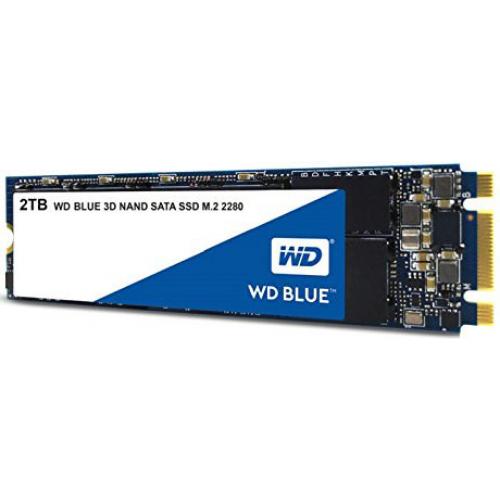 Western Digital SSD BLUE 2Tb SATA-III M2.2280 3D NAND WDS200T2B0B
