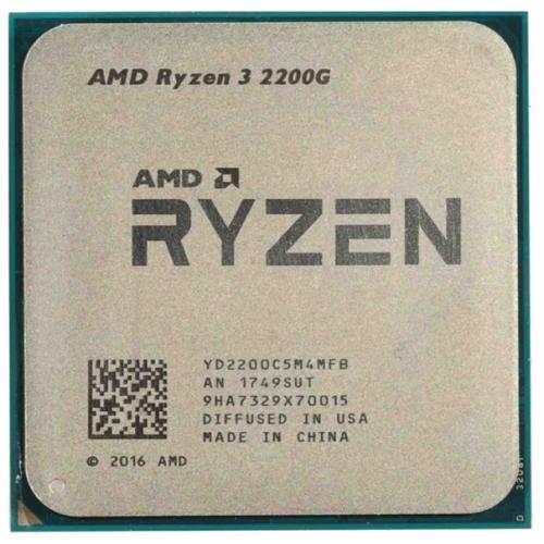 CPU AMD Ryzen X4 R3-2200G Raven Ridge 3500MHz AM4, YD2200C5M4MFB OEM