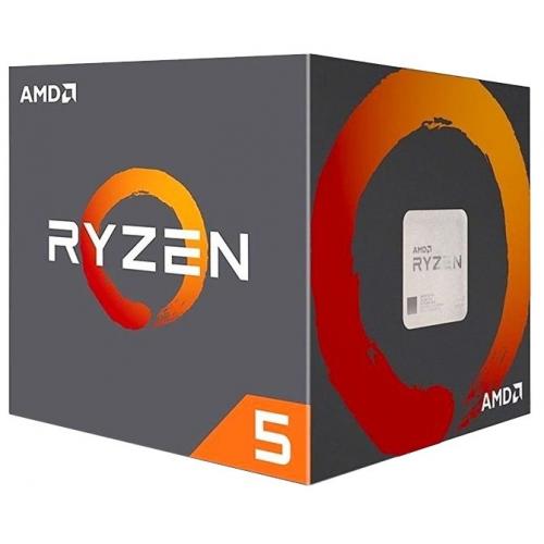 CPU AMD Ryzen X6 R5-2600 Pinnacle Ridge 3400MHz AM4, 65W, YD2600BBAFBOX BOX - YD2600BBAFBOX