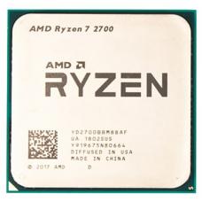 CPU AMD Ryzen X8 R7-2700 Pinnacle Ridge 3200MHz AM4, 65W, YD2700BBM88AF OEM - YD2700BBM88AF